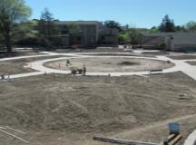 Cunningham footprint turns into plaza