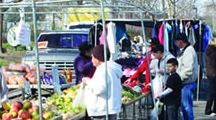 Delta flea market a place for community outreach