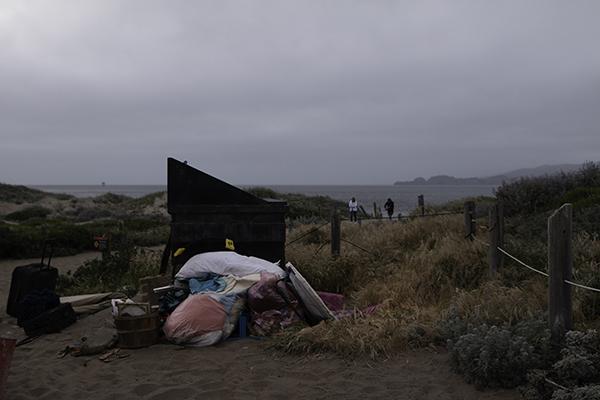 Baker beach, California. Photo by Tayton McCorstin